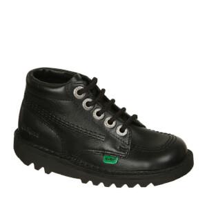 Kickers Kids' Kick Hi Boots - Black: Image 3
