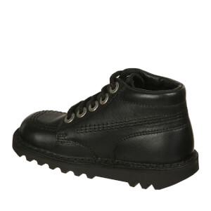 Kickers Kids' Kick Hi Boots - Black: Image 2