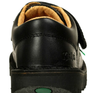 Kickers Kids' Kick Lo Velcro Strap Shoes - Black: Image 5