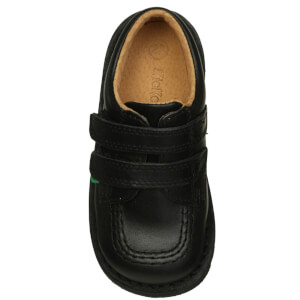 Kickers Kids' Kick Lo Velcro Strap Shoes - Black: Image 4
