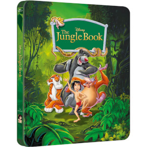 The Jungle Book - Steelbook Exclusivo de Zavvi (Edición Limitada) (The Disney Collection #2)