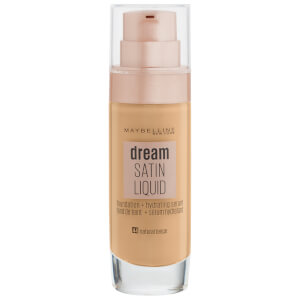 Maybelline Dream Satin Liquid Foundation with Hydrating Serum 30ml (Various Shades)