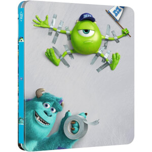 Monsters University - Zavvi UK Exclusive Limited Edition Steelbook (The Pixar Collection #2)