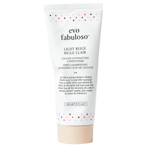 Condicionador Colour Intensifying Light Beige da Evo Fabuloso (220 ml)