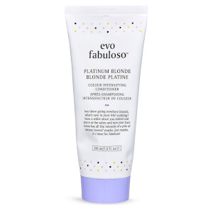 Evo Fabuloso Colour Intensifying Conditioner Platinum Blonde 220ml