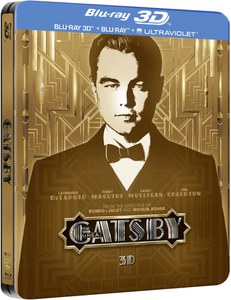 The Great Gatsby 3D - Limited Edition Steelbook (Includes UltraViolet Copy)
