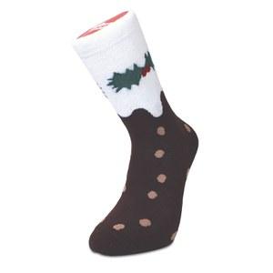 Silly Socks Christmas Pudding