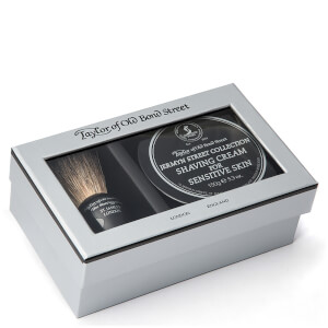 Taylor of Old Bond Street Jermyn Street Pure Badger Brush et crème de rasage Bowl Set