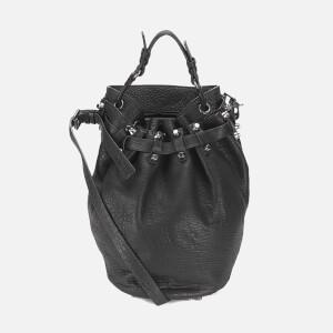 Alexander Wang Women's Diego Pebble Leather Bag - Black/Nickel Hardware