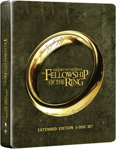 Lord of the Rings: Fellowship of the Ring - Extended Edition Steelbook (Includes UltraViolet Copy) (UK EDITION)