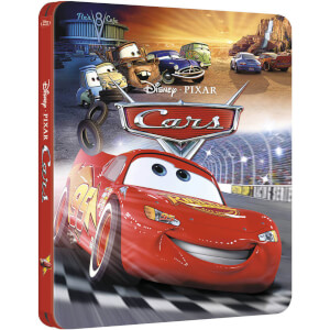 Cars 3D - Zavvi UK Exclusive Limited Edition Steelbook (The Pixar Collection #8)