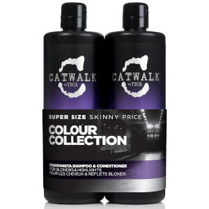 TIGI Catwalk Fashionista Blonde Tween Duo 2 x 750ml