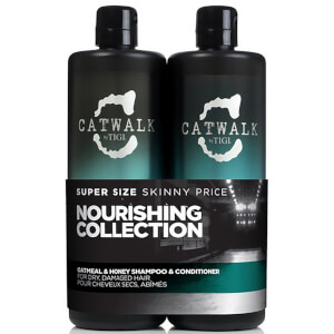 TIGI Catwalk Oatmeal & Honey Tween Duo (2 x 750ml) (del valore di £ 55.90)