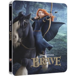Brave 3D - Zavvi UK Exclusive Limited Edition Steelbook with Gloss Finish (The Pixar Collection #9)