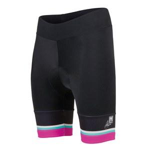 Santini Anna Women's Meares TDU Extra Length Shorts - Pro Grace Pad - Black