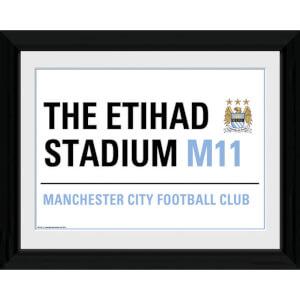 Manchester City Street Sign - 16