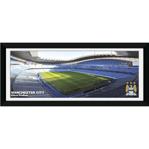 "Manchester City Stadium - 30"""" x 12"""" Framed Photographic"