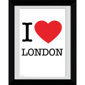 London I Love - 30 x 40cm Collector Prints