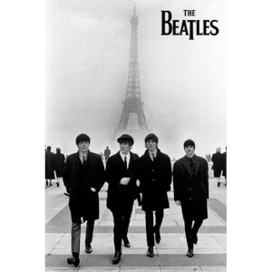 The Beatles In Paris - Maxi Poster - 61 x 91.5cm