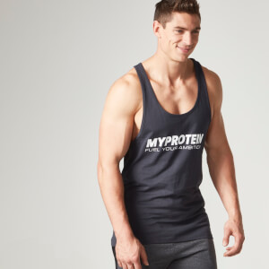 Myprotein Stringer Vest - Šedá
