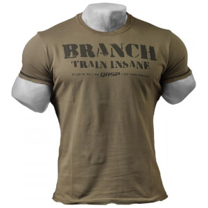 GASP Branch SPP Rough T-Shirt - Wash Green