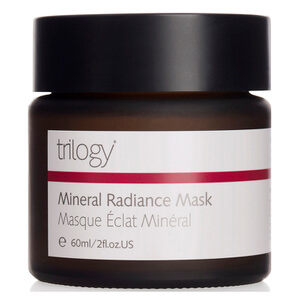 Máscara Brilho Mineral Radiance da Trilogy 60 ml