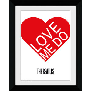 The Beatles Love Me Do - Collector Print - 30 x 40cm