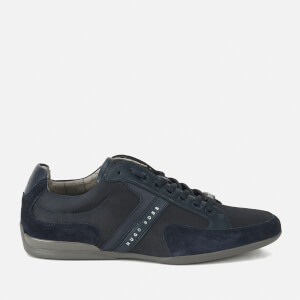 BOSS Green Men's Spacit Trainers - Navy