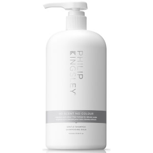 Philip Kingsley No Scent No Colour Gentle Shampoo 1000ml (Worth $128)