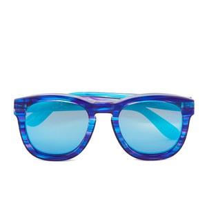 Wildfox Women's Classic Fox Deluxe Sunglasses - Blue Tiger