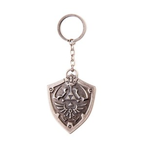 The Legend Of Zelda (Hylian Shield) - Metal Keychain
