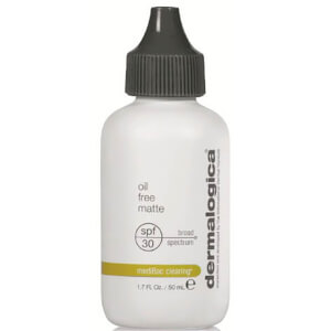 Солнцезащитный матирующий крем с фактором SPF 30 Dermalogica Oil-Free Matte SPF 30