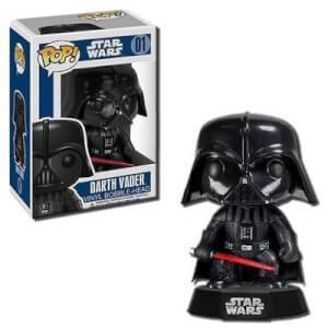 Figura Funko Pop! Darth Vader Bobble-Head - Star Wars