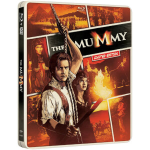 Mummy - Import - Limited Edition Steelbook (Region Free)