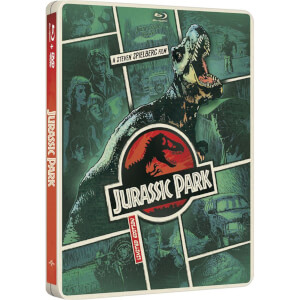 Jurassic Park - Import - Limited Edition Steelbook (Region Free) (UK EDITION)