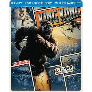 King Kong - Import - Limited Edition Steelbook (Region Free)