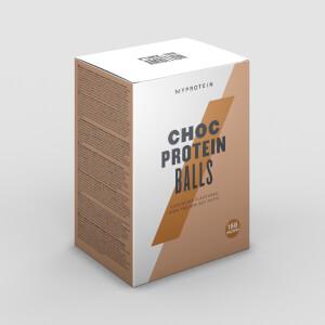 Čokoládové Proteínové Guličky