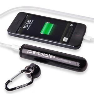 Veho Pebble Smartstick+ Emergency Portable Battery Back Up Power, 2800mah - Black