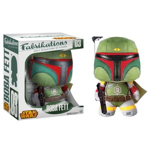 Star Wars Boba Fett Fabrikations Plush Figure: Image 1