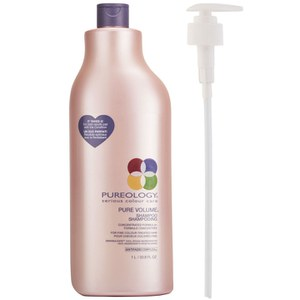 Pureology Pure Volume Shampoo (1000ml) with Pump