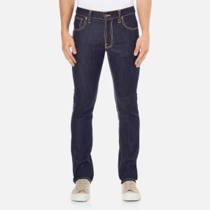 Nudie Jeans Men's Thin Finn Skinny Jeans - Dry Ecru Embo