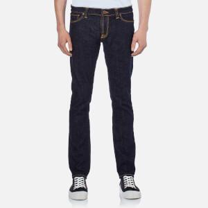 Nudie Jeans Men's Long John Skinny Jeans - Twill Rinsed