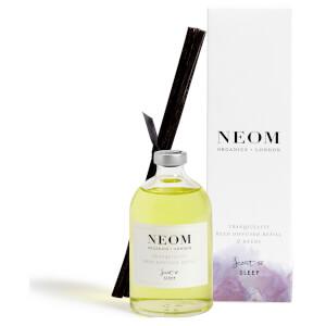 """Recharge pour le diffuseur à roseaux """"Tranquillity"""" de NEOM Organics (100 ml)."""