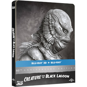 Creature from the Black Lagoon 3D - Limited Edition Steelbook (Includes 2D Version) (UK EDITION)