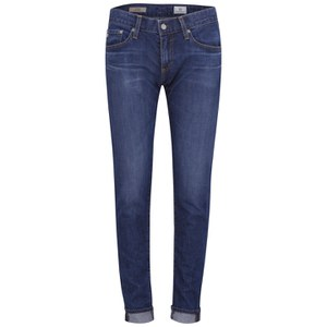 AG Jeans Women's Nikki Slim Boyfriend Jeans - Mid Blue
