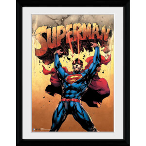 DC Comics Superman Strength - 30x40 Collector Prints