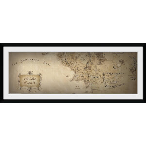 Lord of the Rings Map - 30x75 Collector Prints