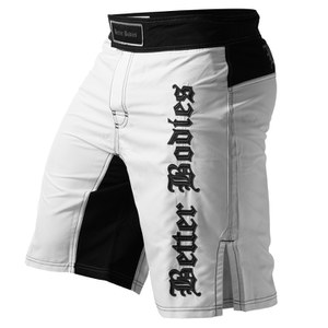 Better Bodies Flex Board Shorts - White/Black