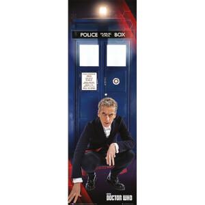 Doctor Who Tardis and Doctor - Door Poster - 53 x 158cm