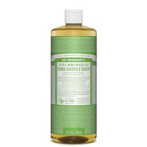 Dr Bronner's Pure Castile Liquid Soap Green Tea 946ml